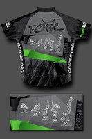 2014 Cycling Jersey - Back