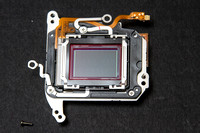 Canon 550D T2i CCD sensor assembly