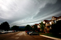 Shelf Cloud Approaching Moline, IL