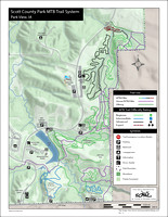 Trail Map - Scott County Park