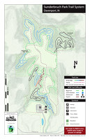 Trail Map - Sunderbruch Park - Davenport, IA